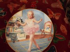 ELAINE GIGNILLIAT DANBURY MINT LTD EDITION PLATE CHILDREN OF WEEK TUESDAYS CHILD